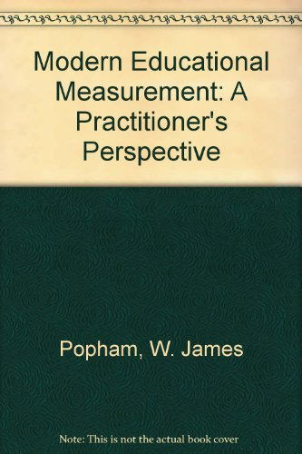 9780135938980: Modern Educational Measurement: A Practitioner's Perspective