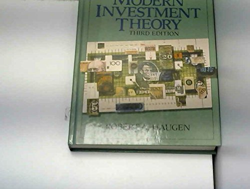9780135943342: Modern Investment Theory