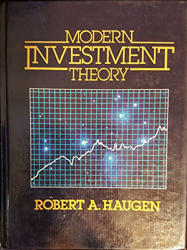 9780135950265: Modern Investment Theory