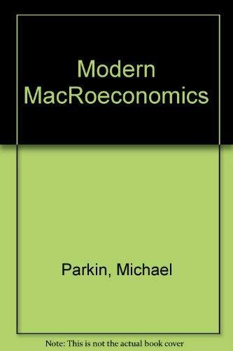 9780135951408: Modern MacRoeconomics