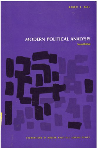 9780135970218: Modern Political Analysis - Second Edition