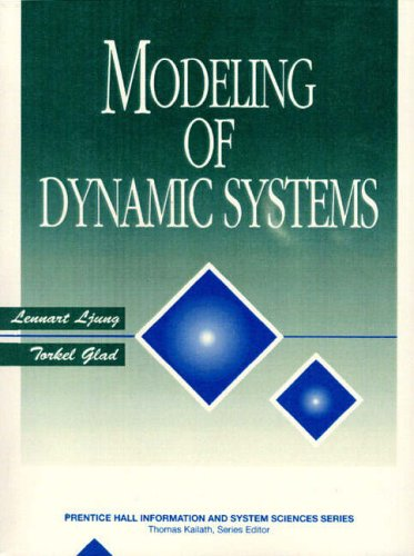 9780135970973: Modeling of Dynamic Systems (Prentice Hall Information & System Sciences Series)