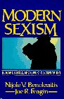 9780135976340: Modern Sexism: Blatant, Subtle and Covert Discriminations
