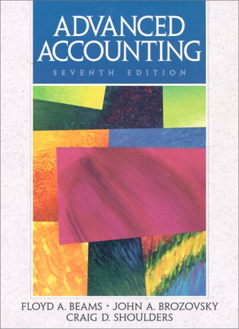 9780135978733: Advanced Accounting (Advanced Accounting, 7th ed)
