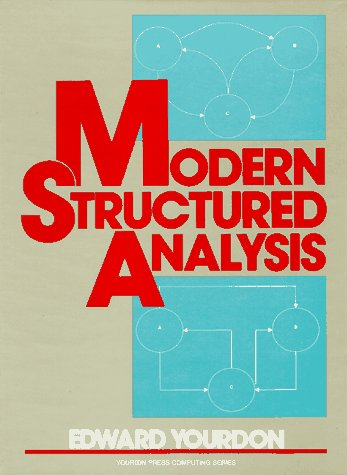 9780135986240: Modern Structured Analysis (Yourdon press computing series)