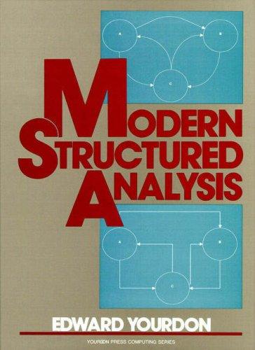 9780135986325: Modern Structured Analysis (Yourdon Press computing series)