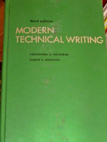 9780135987636: Modern Technical Writing