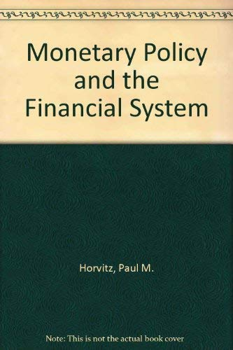 9780135998861: Monetary Policy and the Financial System