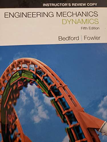 9780136001027: Engineering Mechanics; Dynamics 5th.ed.