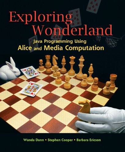 9780136001591: Exploring Wonderland: Java Programming Using Alice and Media Computation