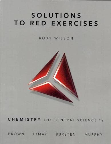 9780136002871: Solutions to Red Exercises, Chemistry the Central Science