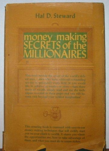 9780136003205: Money making secrets of the millionaires