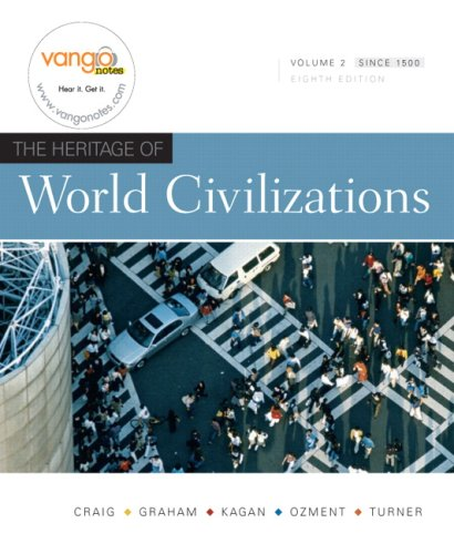 9780136003229: The Heritage of World Civilizations, Vol. 2, 8th Edition