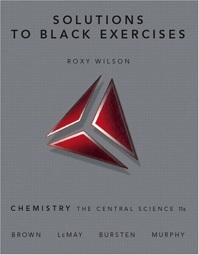 9780136003243: Solutions to Black Exercises