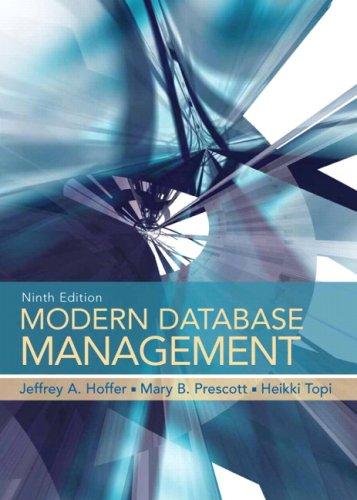 9780136003915: Modern Database Management (9th Edition)
