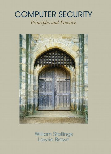 9780136004240: Computer Security: Principles and Practice: United States Edition
