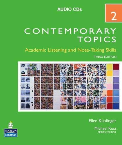 9780136005148: Contemporary Topics 2 Audio CDs (3rd Edition)