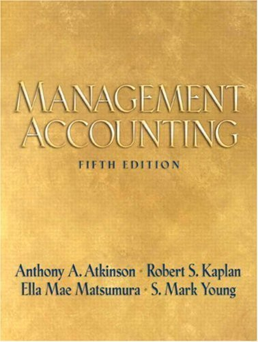 9780136005315: Management Accounting