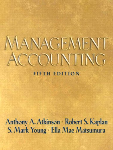 9780136005315: Management Accounting (5th Edition)