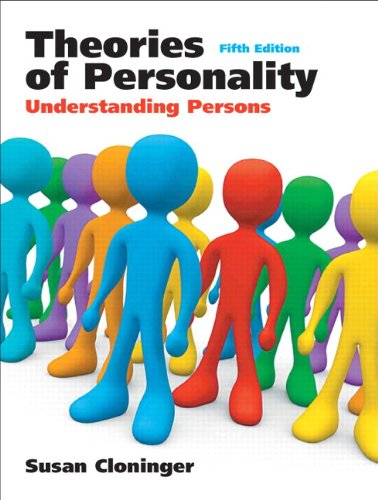 9780136006596: Theories of Personality: Understanding Persons (with Current Directions in Personality Psychology): United States Edition