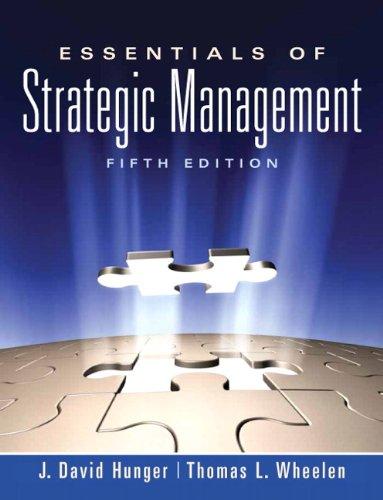9780136006695: Essentials of Strategic Management (5th Edition)