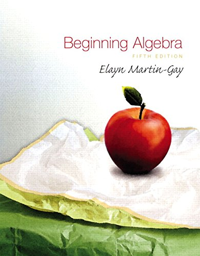 9780136007029: Beginning Algebra (5th Edition)