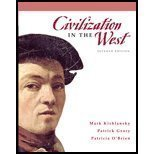 9780136007067: Civilization in the West: Since 1300: Ap Edition
