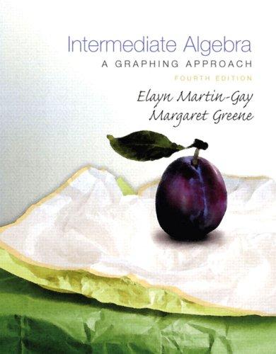 9780136007333: Intermediate Algebra: A Graphing Approach (4th Edition)