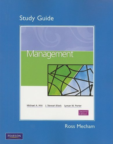 9780136007395: Study Guide for Management