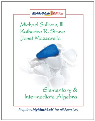 9780136008682: Elementary & Intermediate Algebra MyMathLab Edition