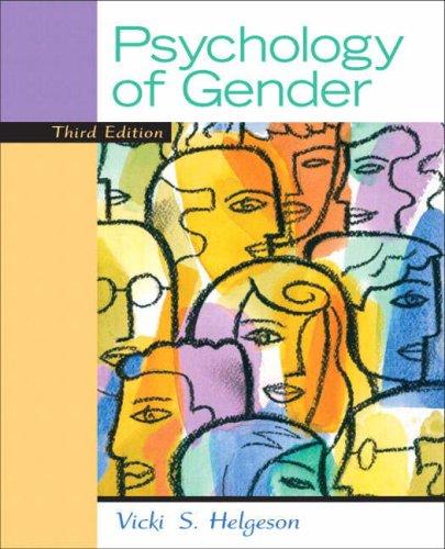 9780136009955: The Psychology of Gender