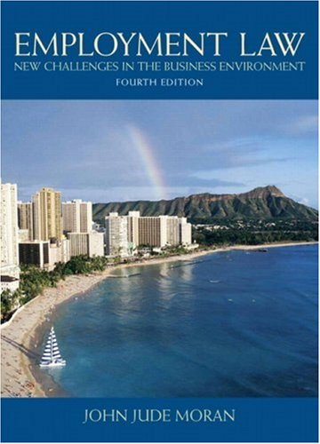 9780136009962: Employment Law (4th Edition)