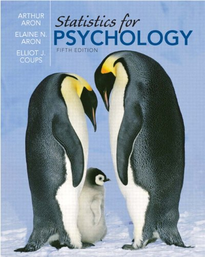 9780136010579: Statistics for Psychology