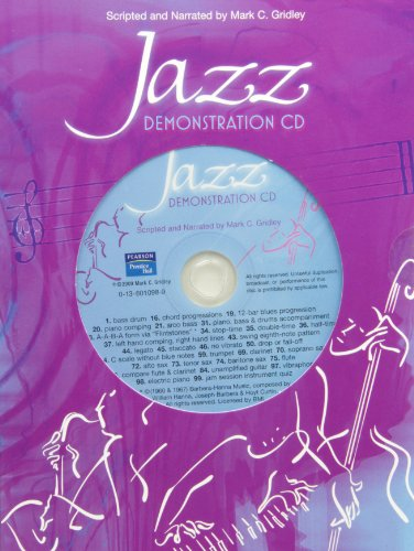 9780136010982: Jazz Demonstration Disc for Jazz Styles: History and Analysis