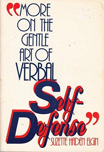 9780136011200: More on the Gentle Art of Verbal Self-Defense