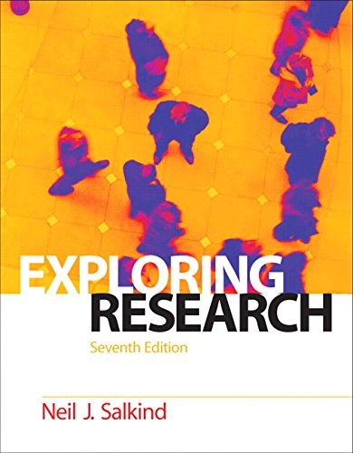 9780136011378: Exploring Research (7th Edition)