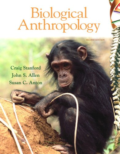 9780136011606: Biological Anthropology: The Natural History of Humankind