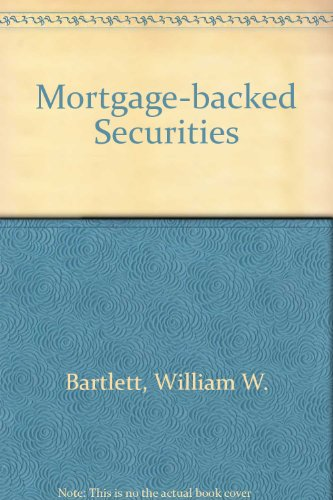 9780136013945: Mortgage Backed Securities
