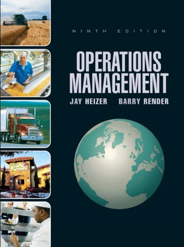 9780136014874: Operations Management