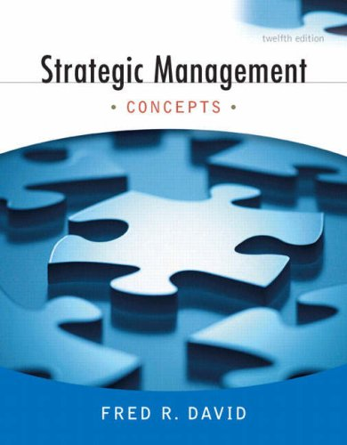 9780136015697: Strategic Management: Concepts (12th Edition)