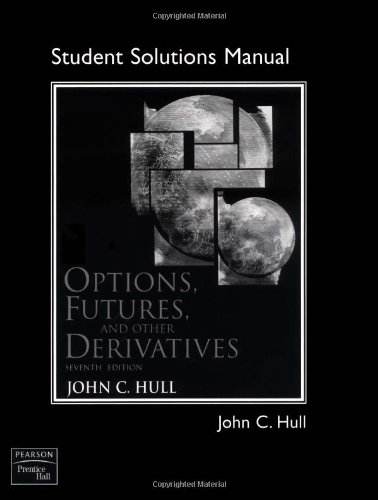 9780136015895: Options, Futures, and Other Derivatives: Student Solutions Manual (No longer includes CD)