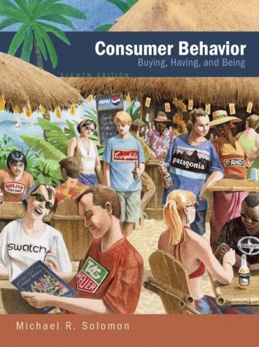 9780136015963: Consumer Behavior (8th Edition)