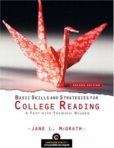 9780136016328: Basic Skills and Strategies for College Reading: A Text With Thematic Reader (With Myreadinglab Student Access Code Card)