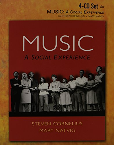9780136017516: 4 CD Set for Music: A Social Experience