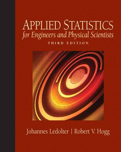 9780136017981: Applied Statistics for Engineers and Physical Scientists