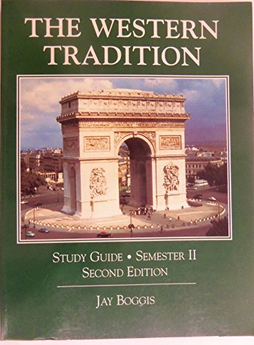 9780136019497: The Western Tradition; Study Guide Semester II