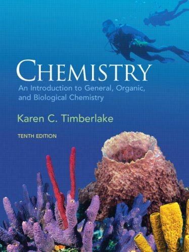 9780136019701: Chemistry: An Introduction to General, Organic, and Biological Chemistry