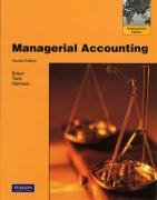 9780136023654: Managerial Accounting