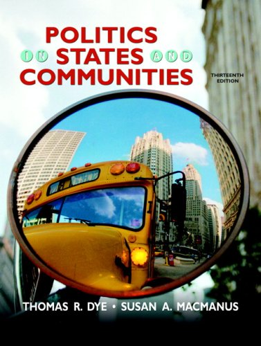 9780136025351: Politics in States and Communities