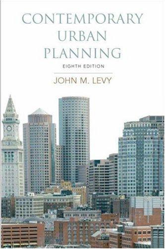 9780136025450: Contemporary Urban Planning (8th Edition)